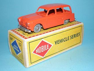 Budgie Miniatures No.15 Austin Countryman - gpw, Mobile box