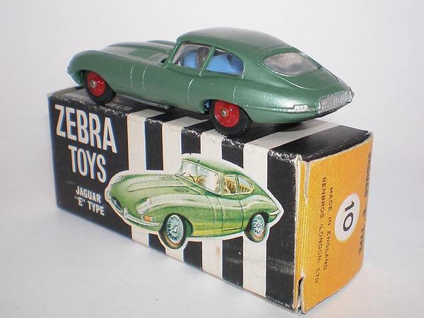 Benbros Zebra Toys Jaguar E-Type