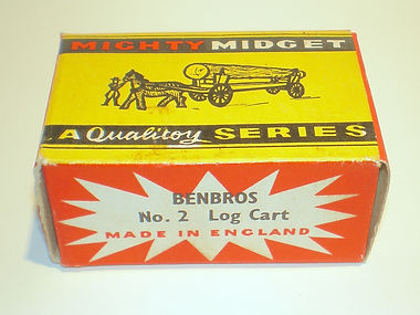 Benbros Mighty Midget No.2 Log Cart box