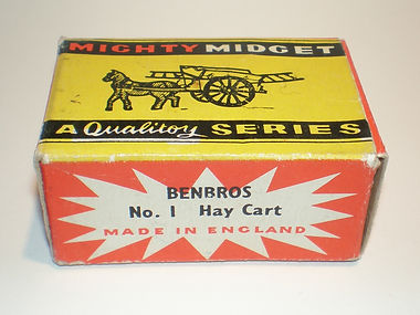 Benbros No.1 Hay Cart Mighty Midget box