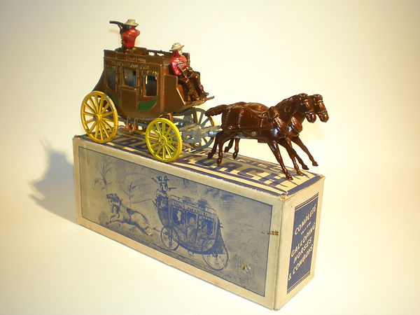 Morestone 'Galloping Horses' Stage Coach
