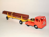 Budgie No.230 Timber Transporter