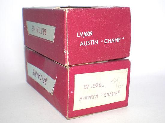Britains Lilliput Vehicle Series LV/609 Boxes