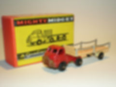 Benbros Mighty Midget No.48 Flat Truck with Chains