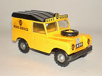 Budgie No.268 AA Land Rover