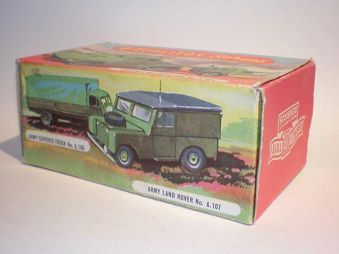 Benbros Qualitoy A107 Army Land Rover box