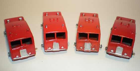 Benbros No.9 Fire Engine colours