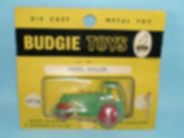 Budgie Miniatures No.26 Diesel Road Roller - yellow blister-pack
