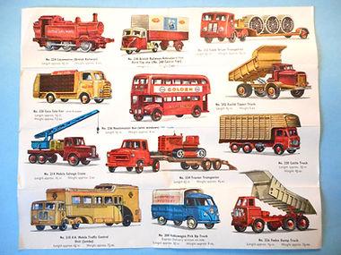Budgie Toys Leaflet 1961 (reverse)
