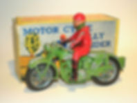 Benbros Qualitoys Motorcycle Rally Rider