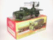 Benbros Qualitoys Mobile Anti-Aircraft Gun