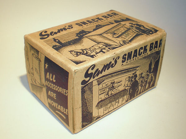 Morestone Sam's Snacks Bar box