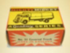 Benbros No.31 Covered Truck - box