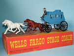Budgie No.434 Wells Fargo Stage Coach