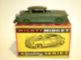 Benbros Mighty Midget No.41 Army Staff Car