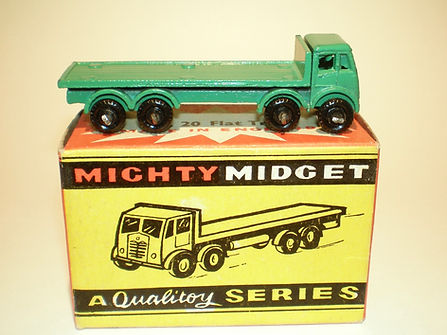 Benbros Mighty Midget No.20 Foden Flat Truck