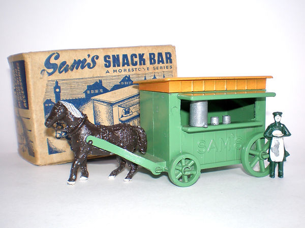 Morestone Sam's Snack Bar - green