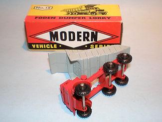 Budgie Miniatures No.18 Foden Dumper Truck