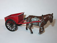 Benbros Qualitoys Horse-drawn Farm Cart