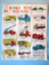 Budgie Toys Leaflet 1960 - First Issue