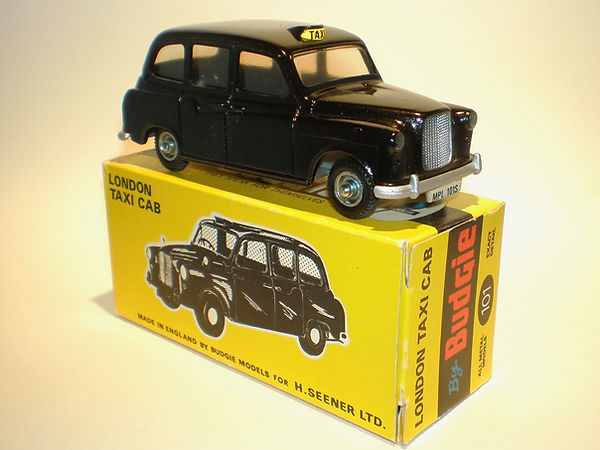 Budgie No.101 London Taxi Cab