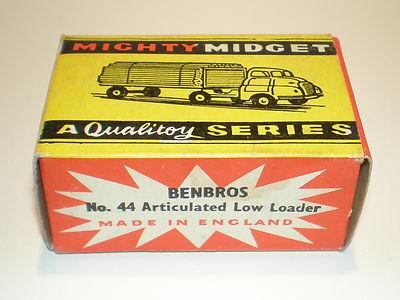 Benbros Mighty Midget No.44 Low Loader box