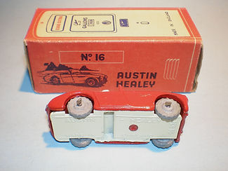 Morestone Esso Petrol Pump Series No.16 Austin-Healey - base