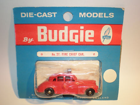 Budgie Miniatures No.27 Fire Chief Car
