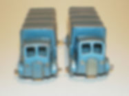 Benbros No.31 Covered Truck - AEC, metallic blue