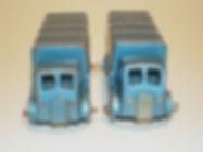Benbros No.31 Covered Truck - AEC, metallic blue