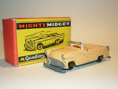 Benbros Mighty Midget No.40 Ford Convertible