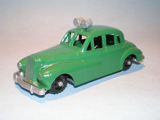 Budgie No.5 Police Car - green