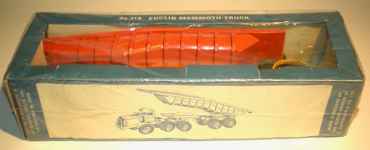 Budgie No.318 Euclid Mammoth Truck in sealed window pack