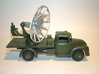Benbros Qualitoys A103 Mobile Radar Truck