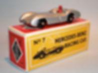 Budgie No.7 Mercedes-Benz Racing Car - bpw, Modern (type 1) box