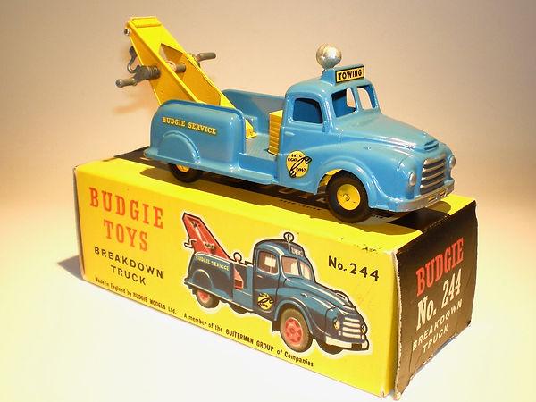 Budgie No.244 Breakdown Truck