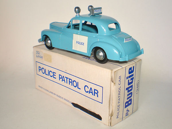 Budgie No.246 Police Patrol Car (Series 2)