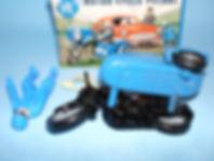 Benbros Zebra Toys RAC Motorcycle Patrol