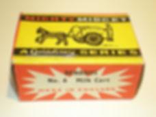 Benbros Mighty Midget No.6 Milk Cart box