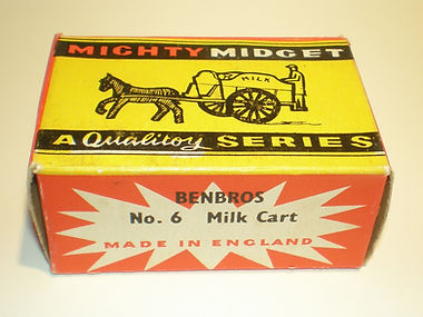 Benbros Mighty Midget No.6 Milk Cart box