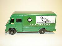 Budgie Miniatures No.57 REA Express Parcel Delivery Truck