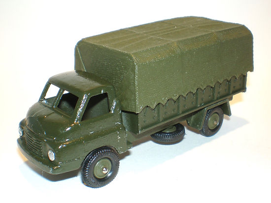 Britains Lilliput Vehicle Series LV/607 Army 3-Ton Covered Wagon