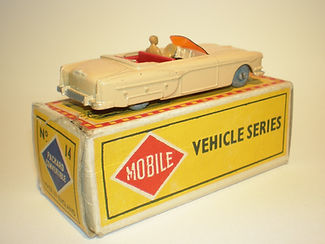 Budgie Miniatures No.14 Packard Convertible - umw, Mobile box