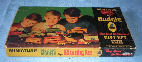 Budgie Miniatures Gift Set No.12
