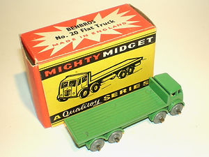 Benbros Mighty Midget No.20 Flat Truck