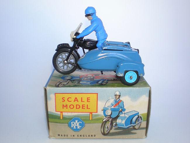 Benbros Zebra Toys Motorcycle Patrol