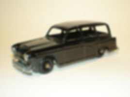 Budgie Miniatures No.61 Q Car - black