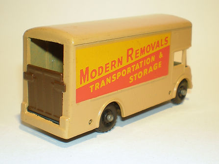Budgie Miniatures No.58 Modern Removal Truck