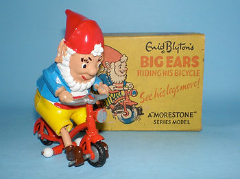 Morestone Big Ears Riding His Bicycle