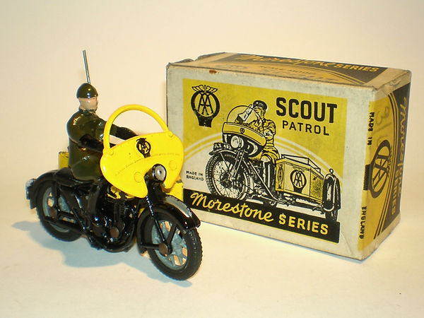 Morestone AA Scout Patrol Motorcycle Series 2